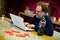 Wikimedia Nederland Conferentie 2013 (10643043685).jpg