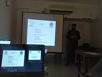 Wikipedia workshop for journalists, May 2019 (3).jpg