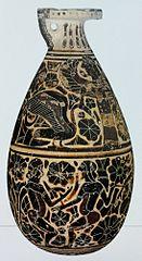 Alabastron z Potnia Theron - Artemida jako Pani Zwierząt