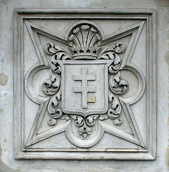 Potocki - Image: Wilanow herb Pilawa na mauzoleum