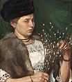Wilhelm Reetz Frauenporträt mit Pelz und Weidenkätzchen 1920.jpg