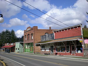 Wilkeson, Washington - Downtown Wilkeson