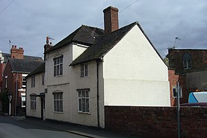 William Hazlitt - House in Wem, Shropshire where the Reverend William Hazlitt and his family lived between 1787 and 1813