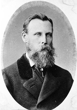 William Lee Rees - William Rees, circa 1878