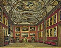 Windsor Castle, Queen's State Bedchamber, by James Stephanoff, 1818 - royal coll 922103 257027 ORI 0.jpg