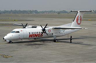 Wings Air - A Wings Air Bombardier Dash 8–300