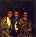 Wink van Kempen, Eveline Ketterings and friend, 1995.jpg