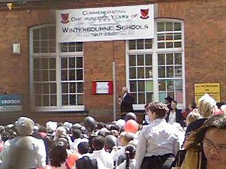 Winterbourne Junior Boys' School - Image: Winterbourne Centenary 2