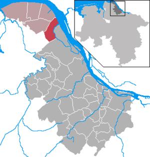 Wischhafen - Image: Wischhafen in STD