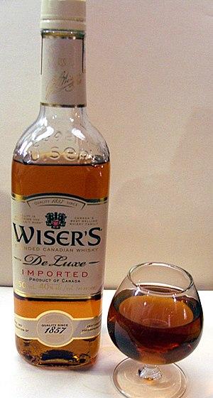 J.P. Wiser's Whisky - Image: Wiser's De Luxe