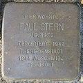 Witten Stolperstein Paul Stern.jpg