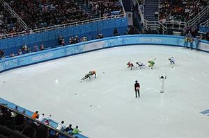 Lithuania at the 2014 Winter Olympics - Agnė Sereikaitė in the women's 1500m semifinal