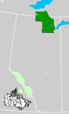 Carte Ville Buffalo.Parc National Wood Buffalo Wikipedia