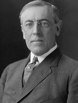 1912 Democratic National Convention - Image: Woodrow Wilson H&E (3x 4 A)