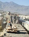 Working on a Hesco in Wardak.jpg