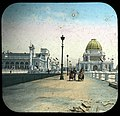World's Columbian Exposition lantern slides, Visitors in Chairs (NBY 8742).jpg