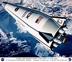 X-33 Proposal by McDonnell Douglas - Computer Graphic DVIDS739776.jpg