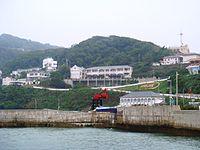 Xiju, seen from the Qingfan Harbor, Xiju, Matsu, Taiwan.JPG
