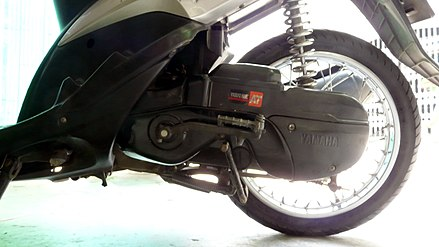Yamaha Mio rear suspension