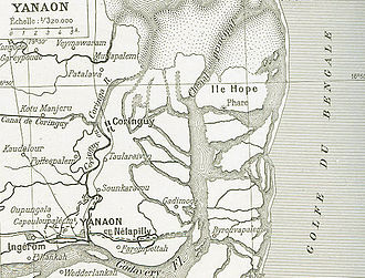 French India - Colonial Yanaon