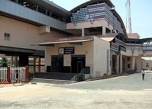Yeshwanthpur metro station - Image: Yeshwantapur Metro Station