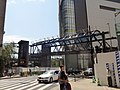 Yodobashi Bridge (from Yodobashi Umeda to Osaka Station) under construction.jpg