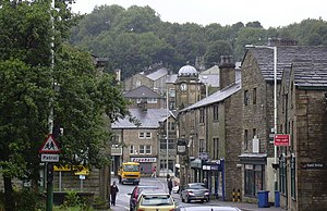 Bacup - Image: Yorkshire Street, Bacup