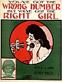 You've got the wrong number, but you've got the right girl 1911.jpg