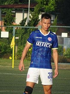 Yuen Tsun Tung Hong Kong footballer