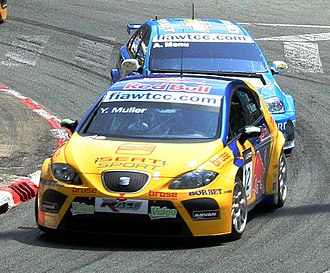 2007 World Touring Car Championship - Yvan Muller (SEAT Leon) placed second in the Drivers' Championship