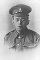 ZEEV JABOTINSKY IN ARMY UNIFORM DURING WORLD WAR 1. פורטרט, זאב ז'בוטינסקי במדים צבאיים, בזמן מלחמת העולם הראשונה..jpg