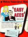 ZIV Company advertisement for Easy Aces radio program transcriptions (1945).jpg