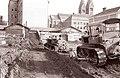 Začetek gradnje Večerove hiše 1960.jpg