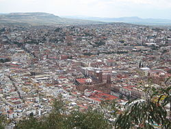 View of Zacatecas