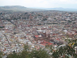 Zacatecas City - View of Zacatecas