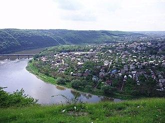 Zalishchyky - Image: Zalischyky panorama 1