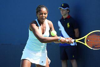 Zarah Razafimahatratra Malagasy tennis player