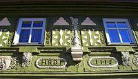 Zeil am Main, Jörg-Hofmann-Haus, Detail1.JPG