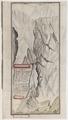Zentralbibliothek Zürich - Zeichnung des Wegs über die Hoche Fellsen die Gemi genant - 000012252.tif