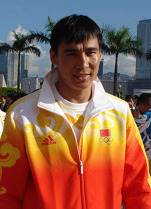 Zhang Xiaoping - Zhang Xiaoping during the Olympic Games 2008