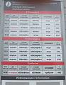 Zhyoltikovo railway station (timetable 2013).JPG