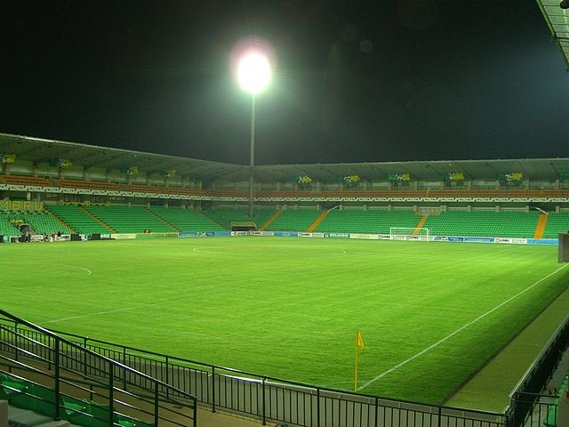 The Zimbru Stadium, Chișinău, Moldova