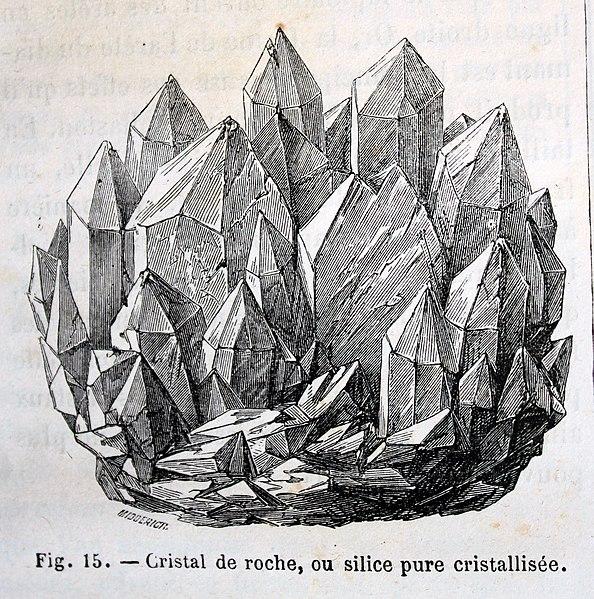 Cristal de roche et librairie ésotérique à Cracovie