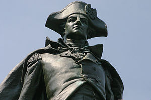 "Stony Point, New York - The ""Mad"" Anthony Wayne statue in Stony Point"