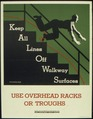 """USE OVERHEAD RACKS OR TROUGHS"" - NARA - 515950.tif"