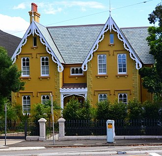 Woollahra, New South Wales - Residential home on Oxford Street.