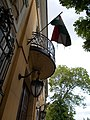 Áldásy house. Balcony. - Budapest District I.JPG