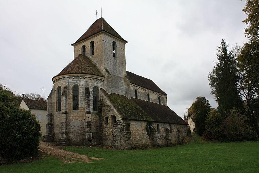 Église Saint-Crépin et Saint-Crépinien de Bussiares