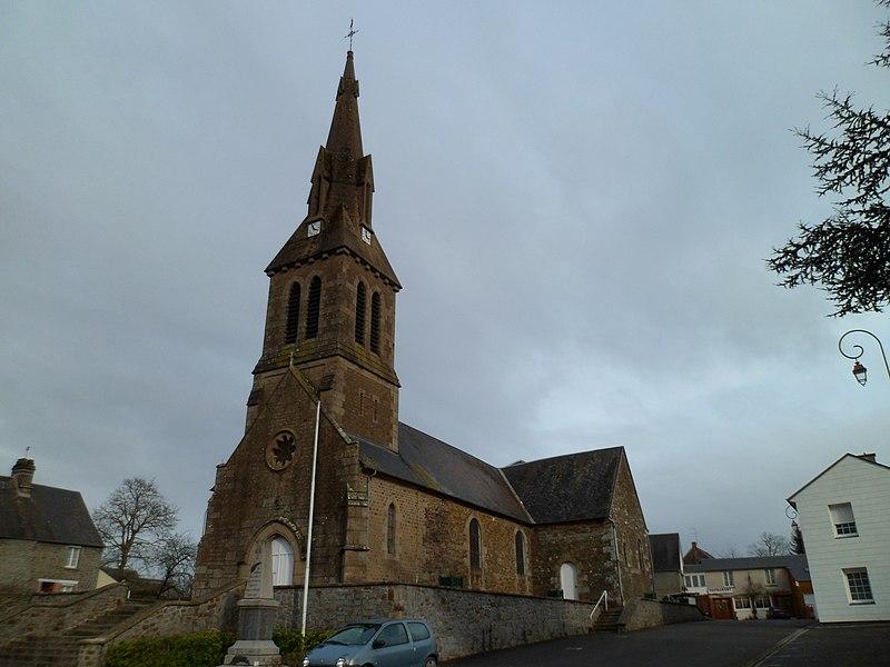 église Saint-Ouen de fr:Lapenty