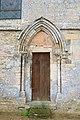Église de Sainte-Croix-sur-Mer Petit portail nord.jpg